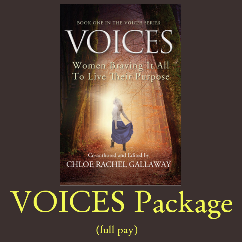VOICES Package (full pay discount 8,000 processing fees will be added at checkout